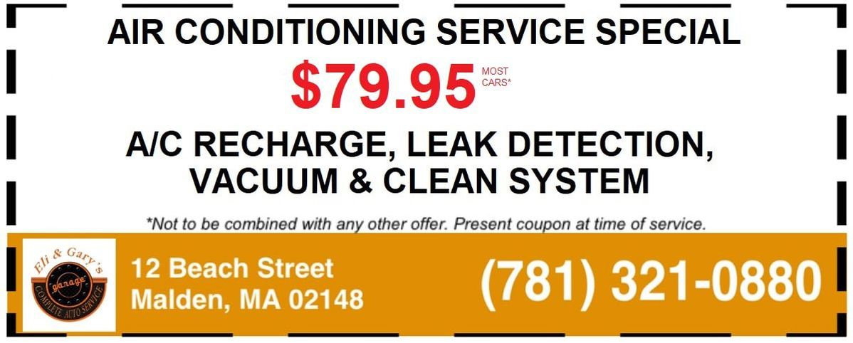 Heating & Cooling System Repair Malden, MA Coupon